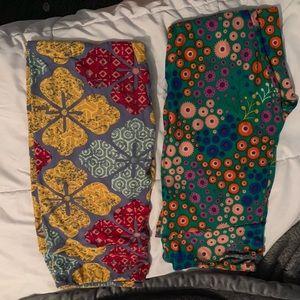 Tall & Curvy LuLaRoe leggings bundle